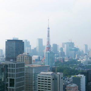 カテリーナ三田 タワースイート ノースサイドビュー昼景