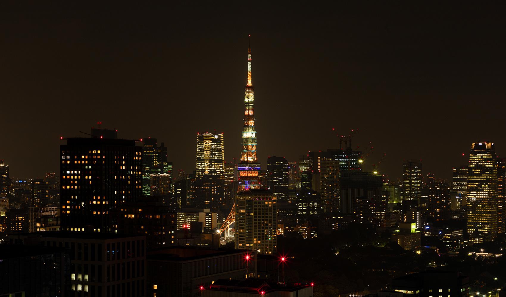カテリーナ三田 タワースイート ノースサイドビュー夜景