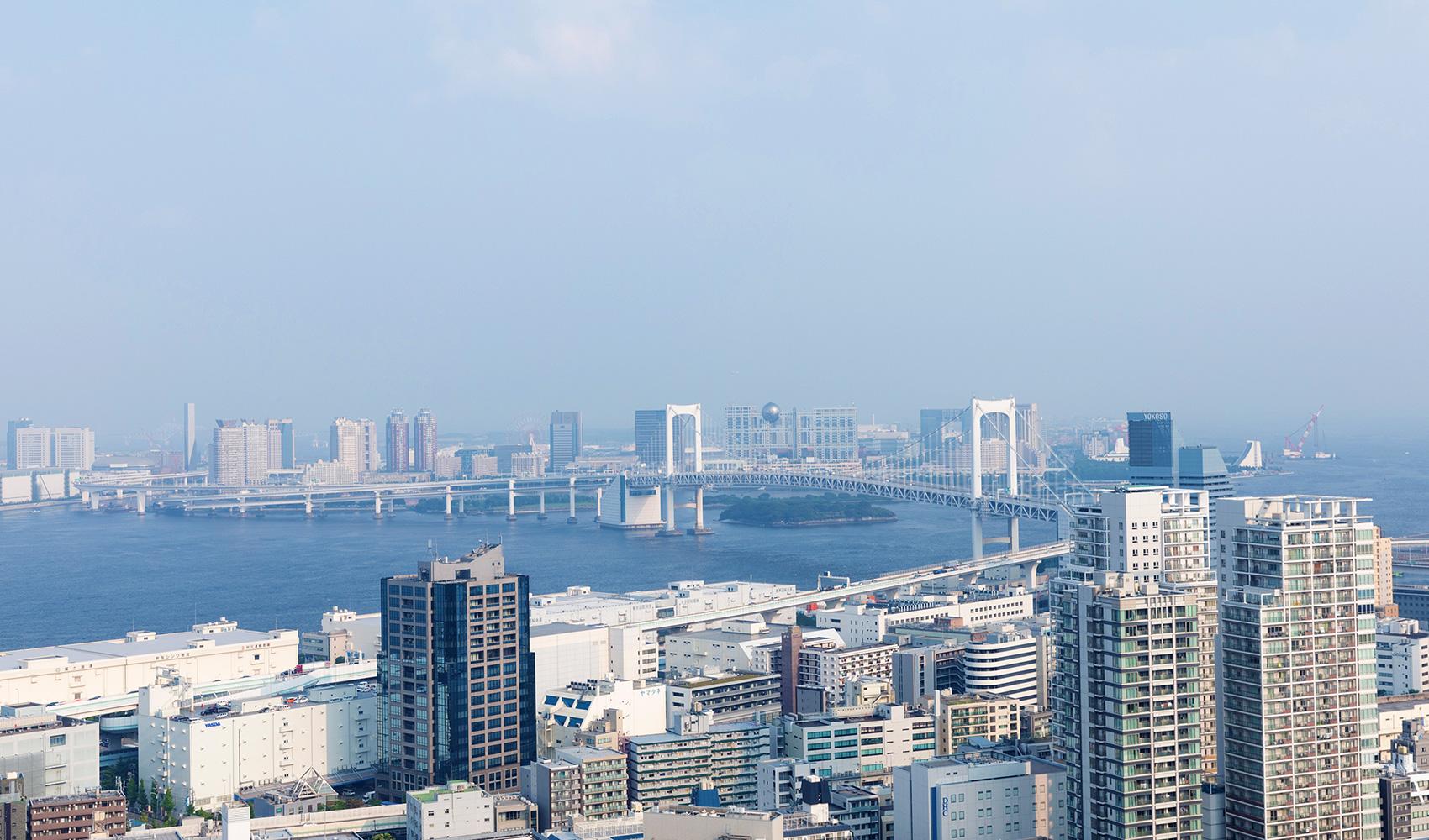 カテリーナ三田 タワースイート サウスサイドビュー昼景