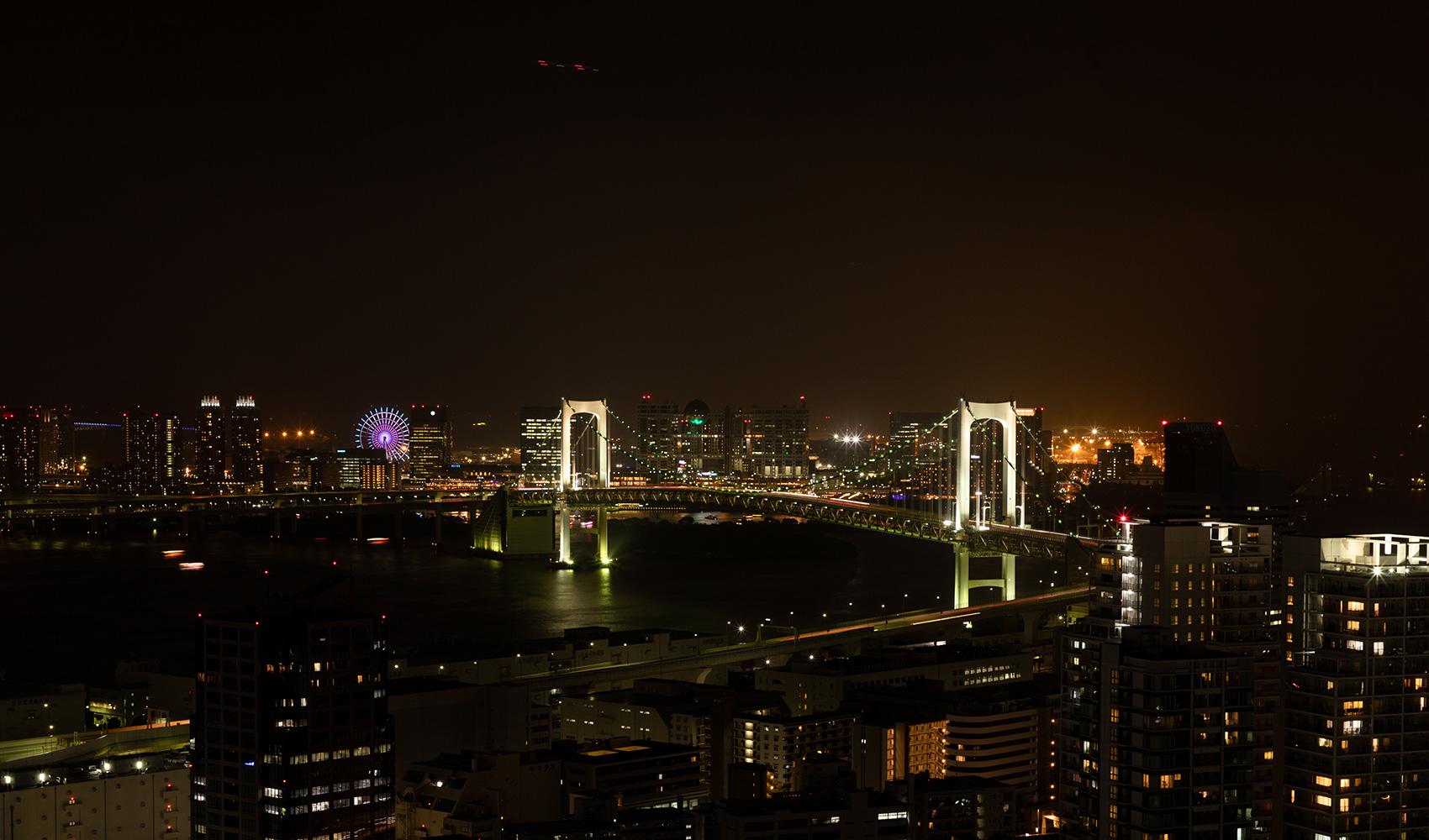カテリーナ三田 タワースイート サウスサイドビュー夜景